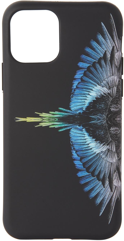 Black & Blue Wings iPhone 11 Pro Case
