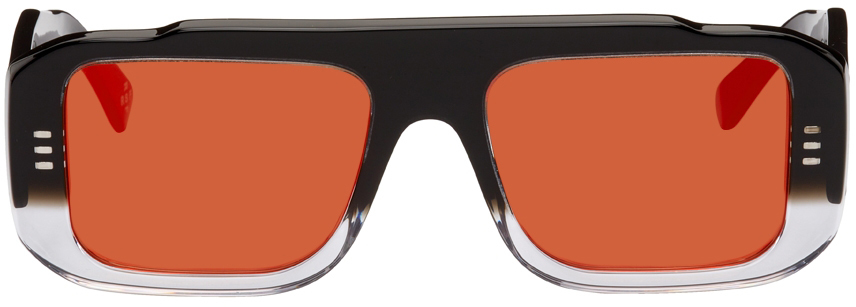 Black & Transparent RETROSUPERFUTURE Edition Cruz Sunglasses
