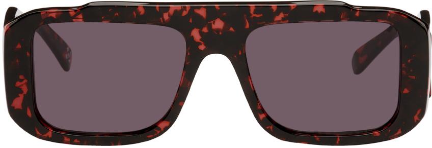 Red RETROSUPERFUTURE Edition Cruz Sunglasses