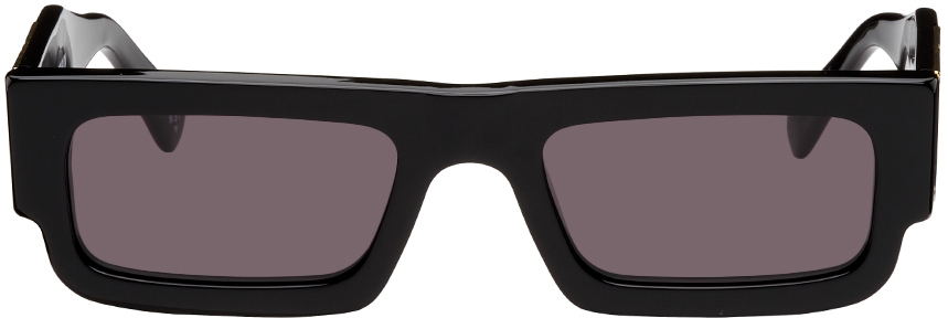 Black & Gold Wing Lowrider Sunglasses