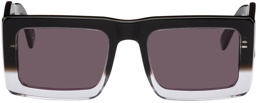 Black & Transparent RETROSUPERFUTURE Edition Templo Sunglasses
