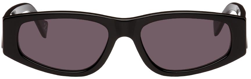 Black RETROSUPERFUTURE Edition Soberano Sunglasses