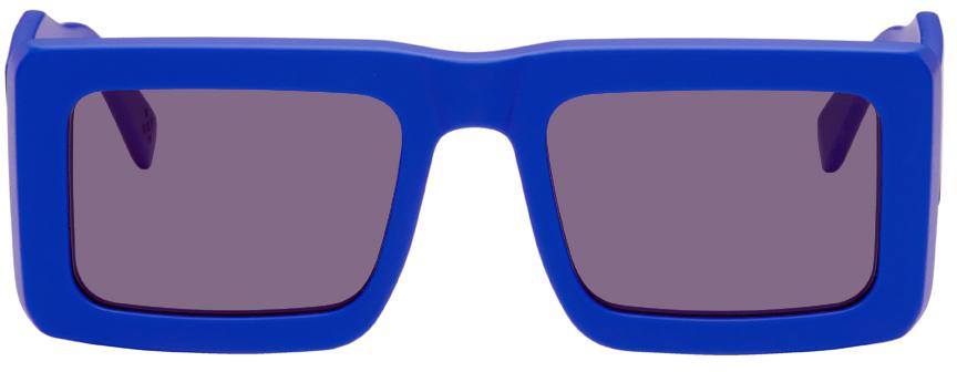 Blue RETROSUPERFUTURE Edition Templo Sunglasses