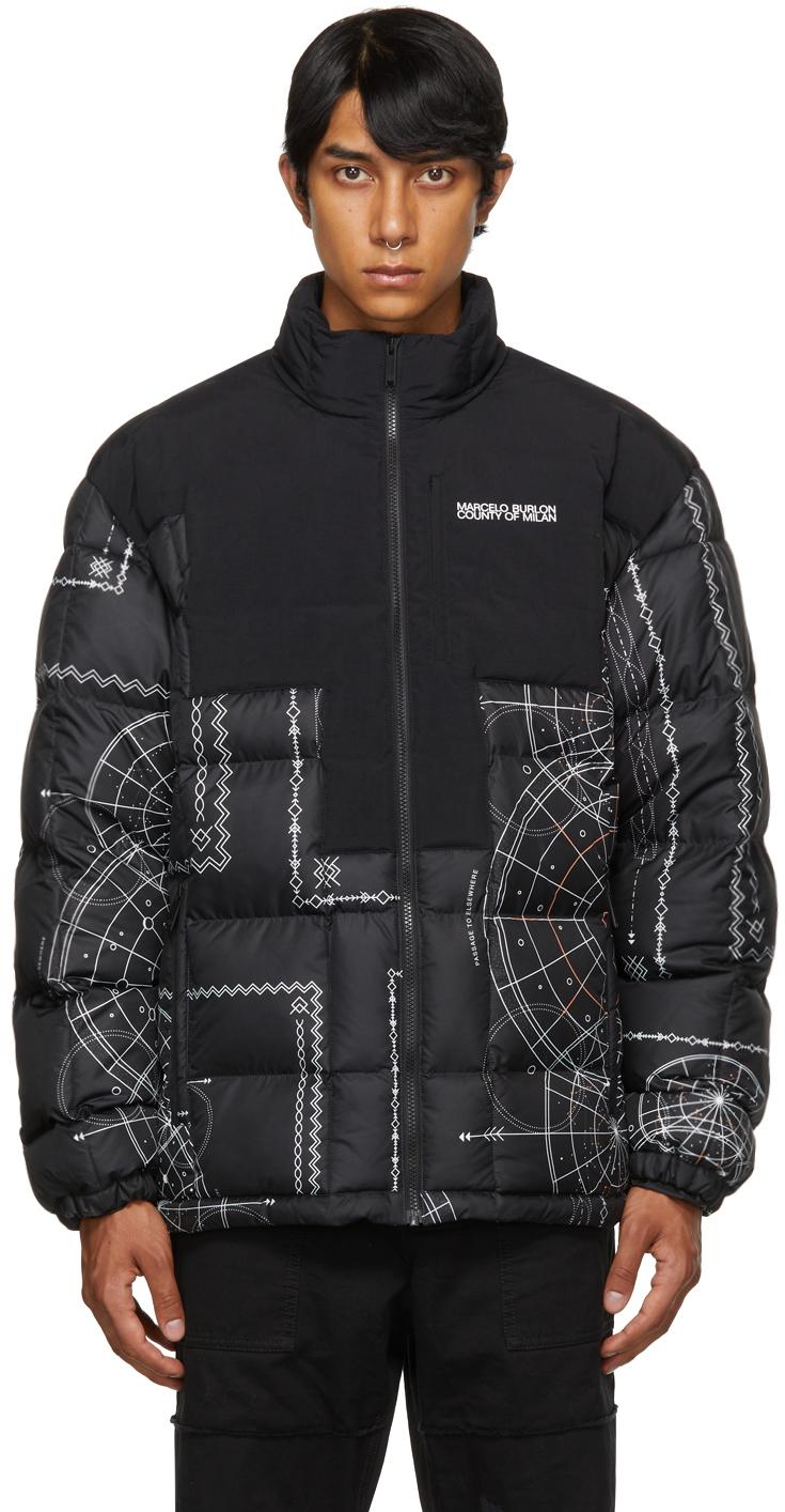 Black Astral Puffer Jacket