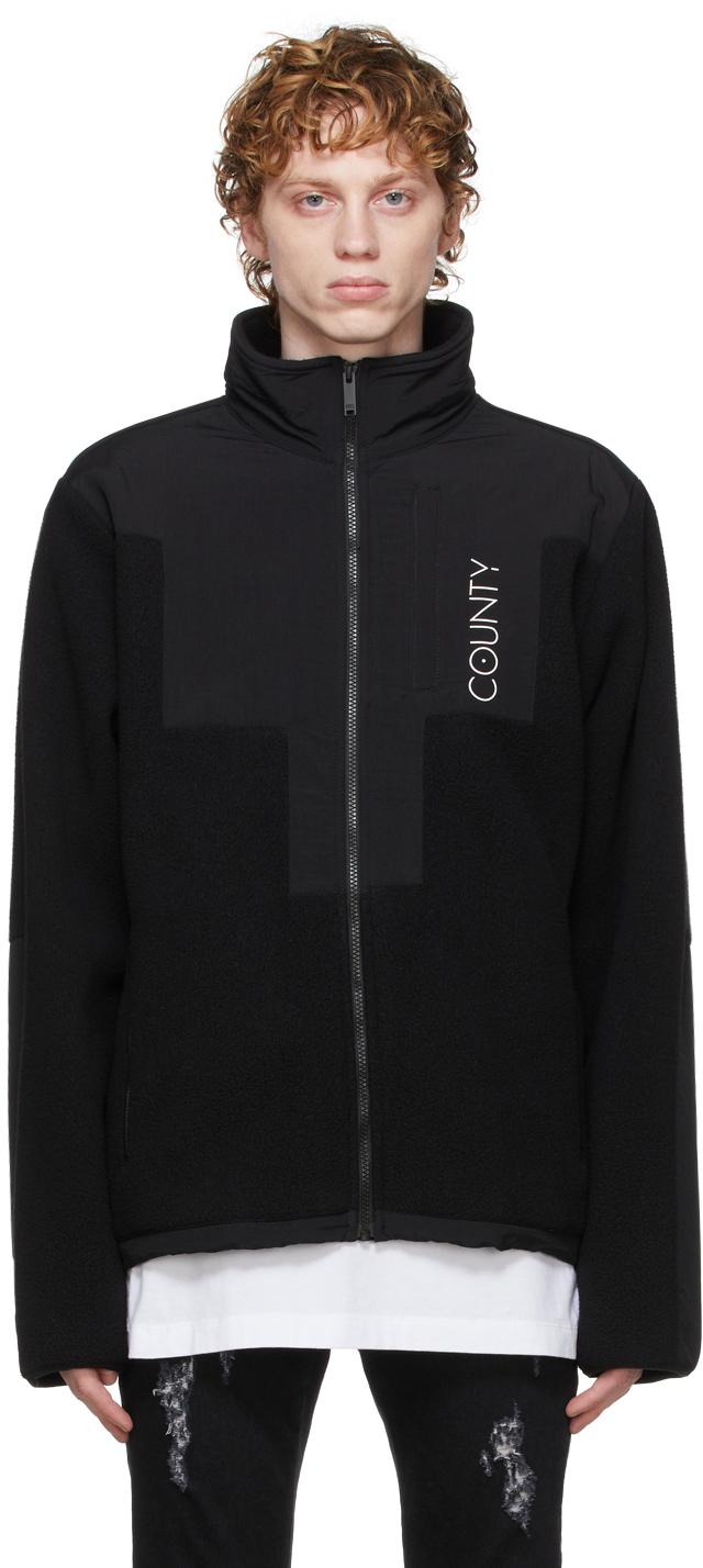 Black Stellar Pile Jacket