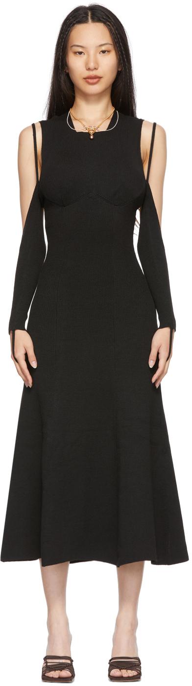 SSENSE Exclusive Black Visible Dress