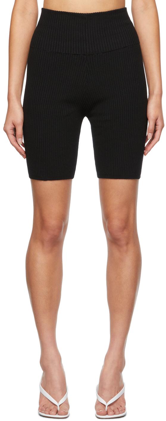 Black Bobby Shorts