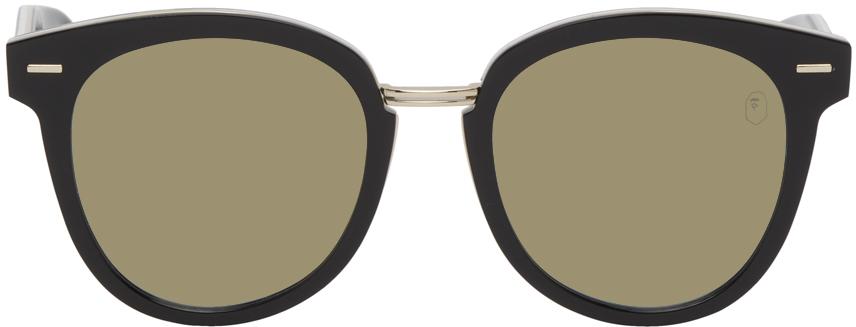 Black & Green BS13002 Camo Sunglasses