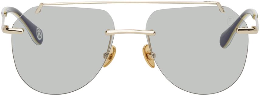 Gold BS13003 Sunglasses