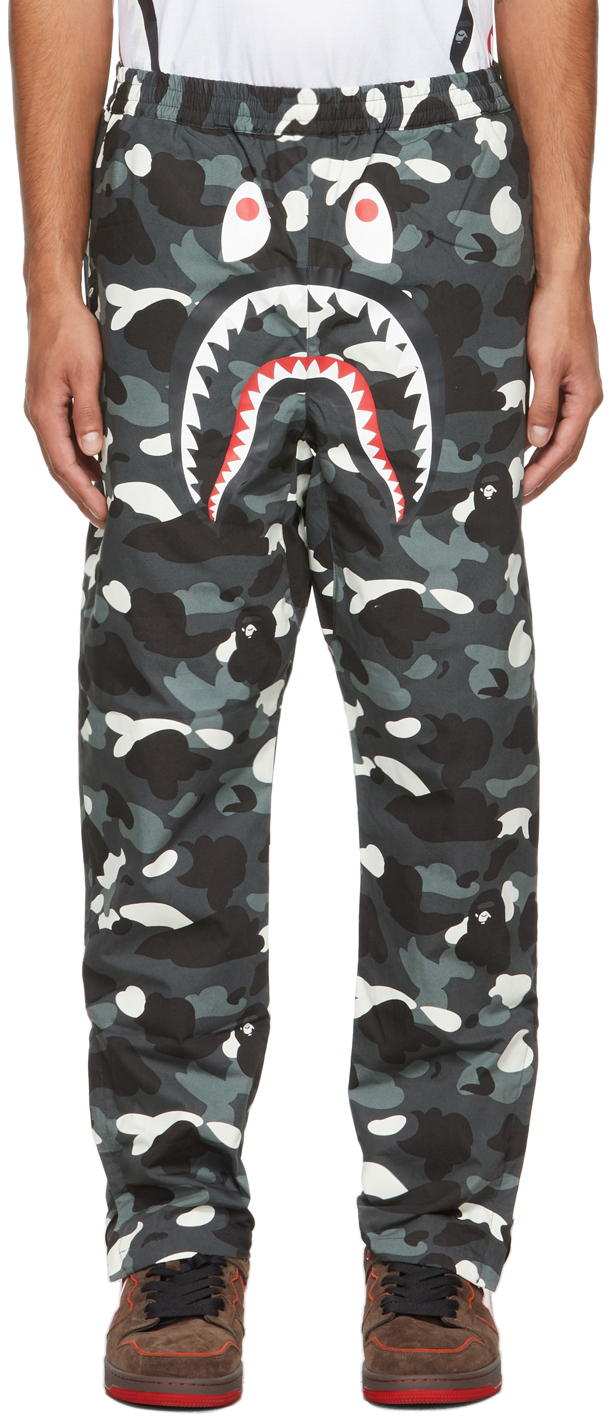 Black Camo Shark Lounge Pants