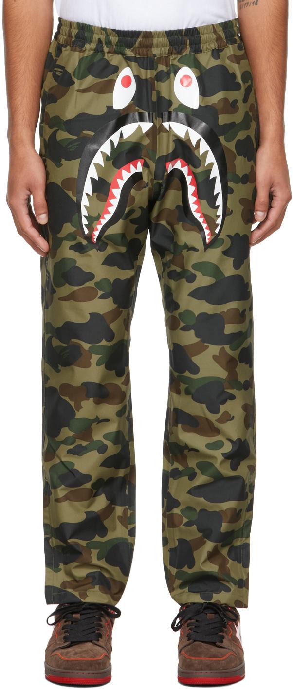 Green 1st Camo Shark Lounge Pants