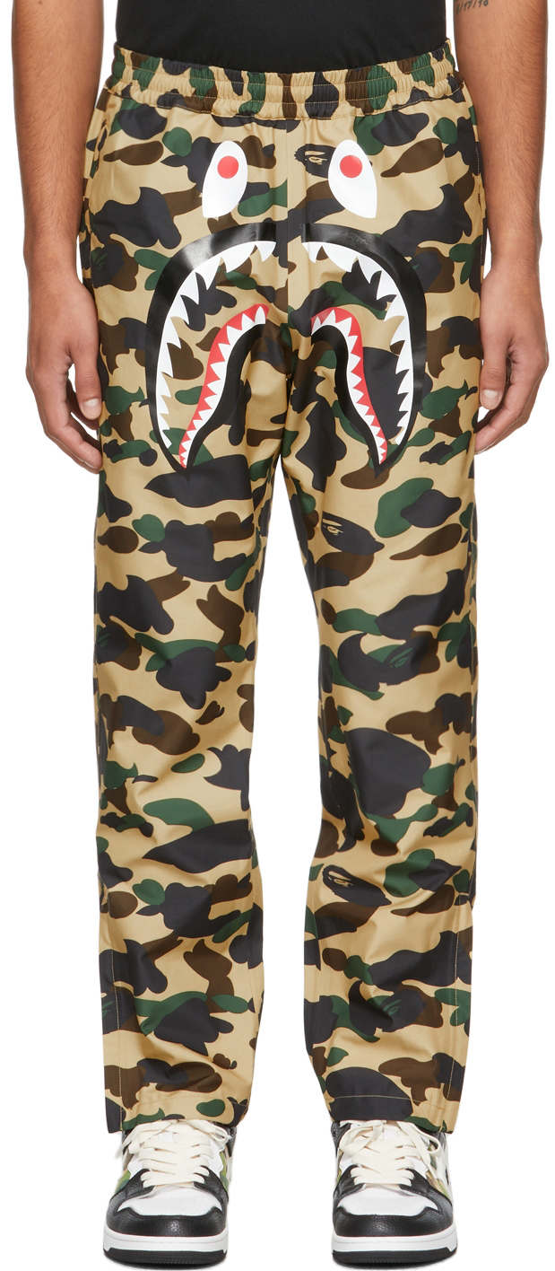 Beige 1st Camo Shark Lounge Pants