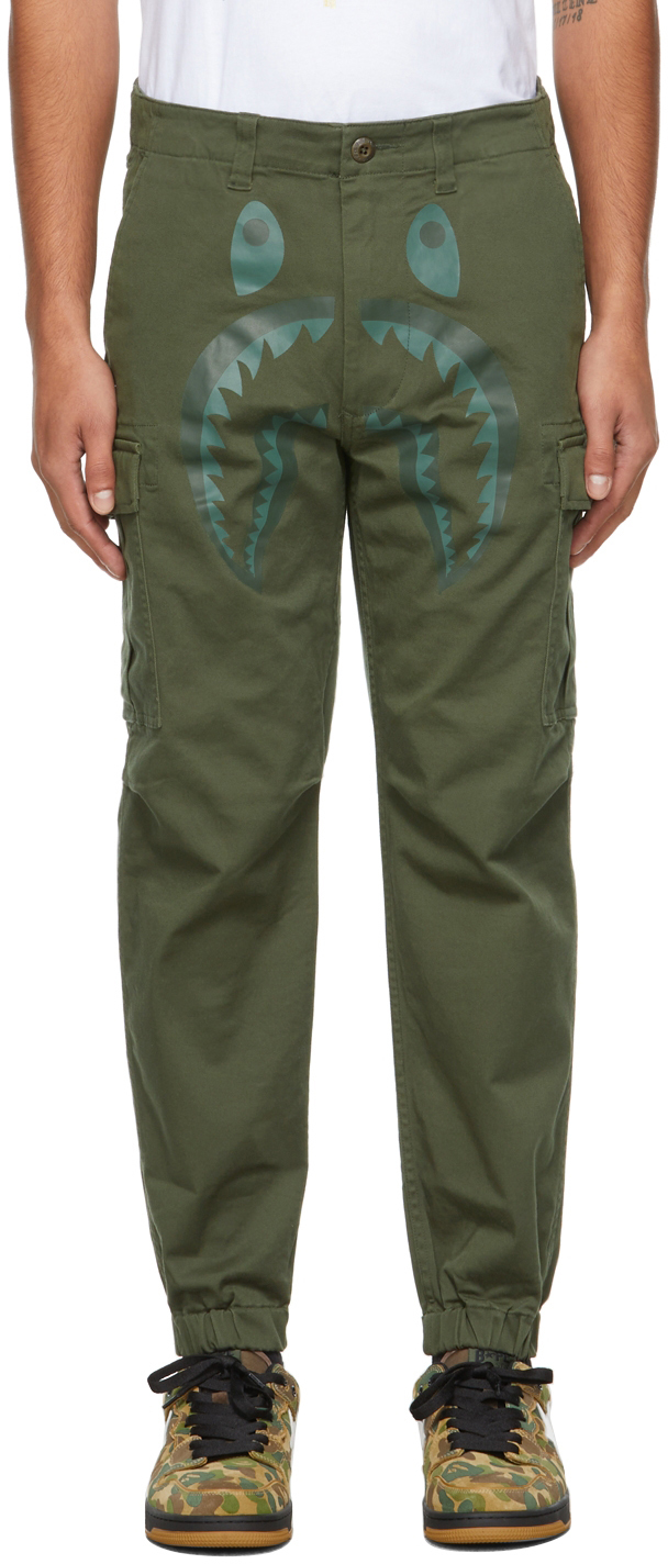 Khaki Shark 6Pocket Cargo Pants