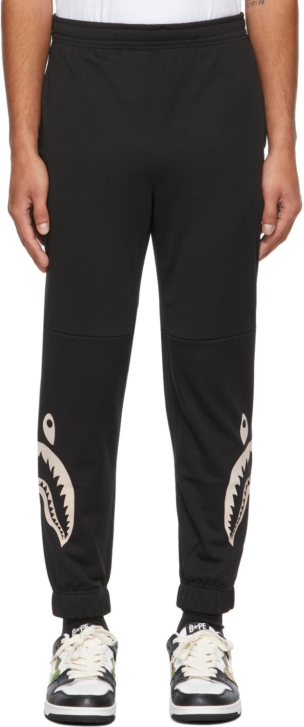 Black Side Shark Lounge Pants