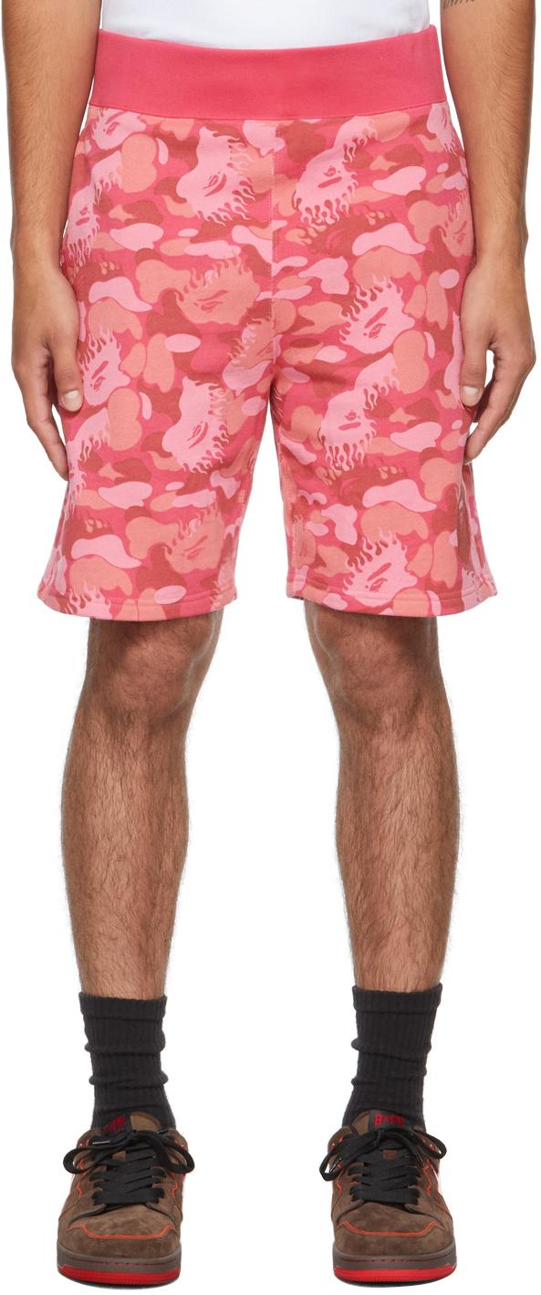 Pink Fire Camo Shorts