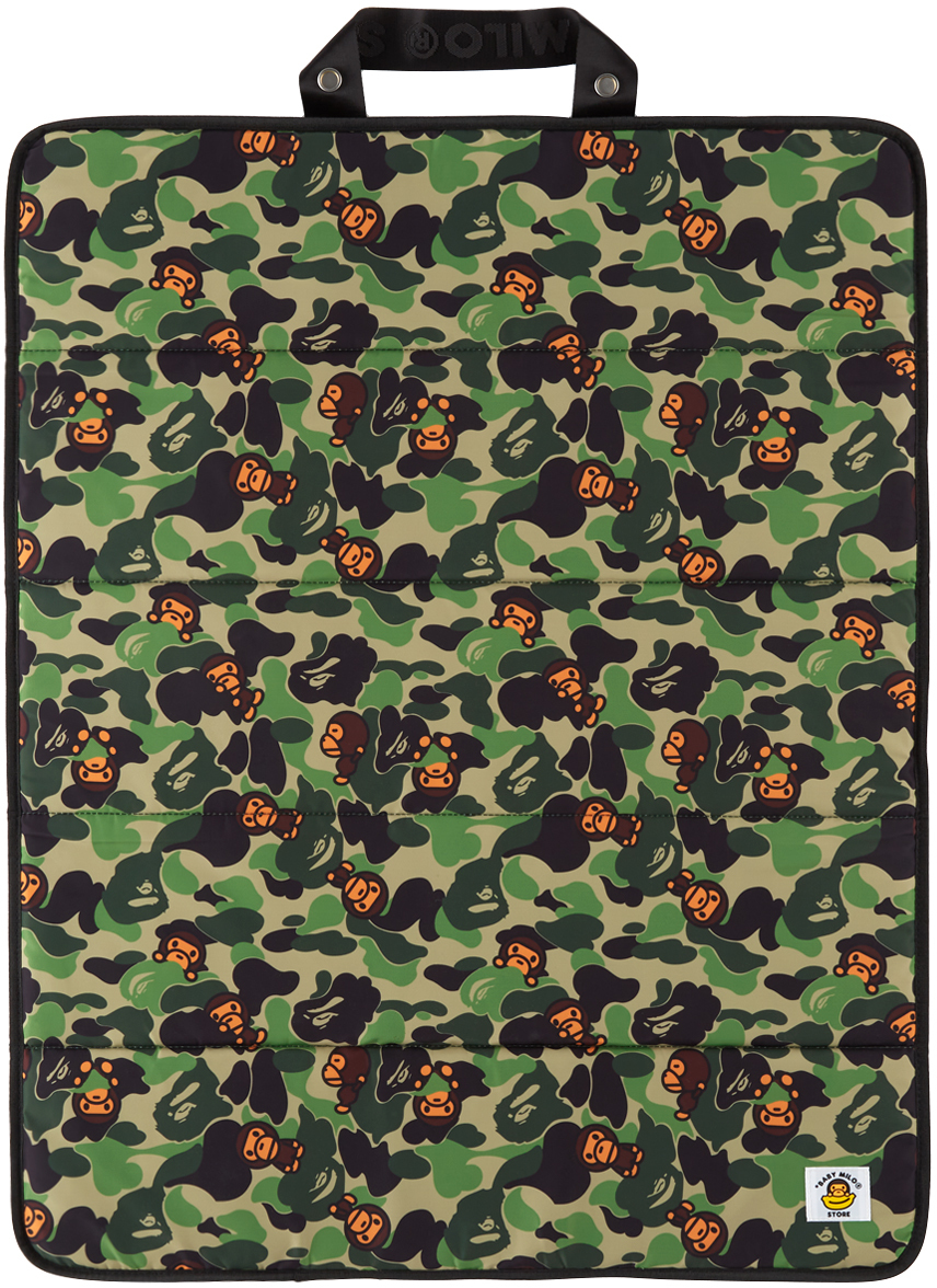 Green Camo Baby Milo Foldable Mat