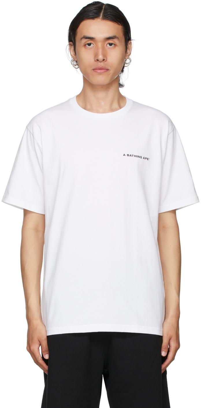 White Cordura Wide T-Shirt