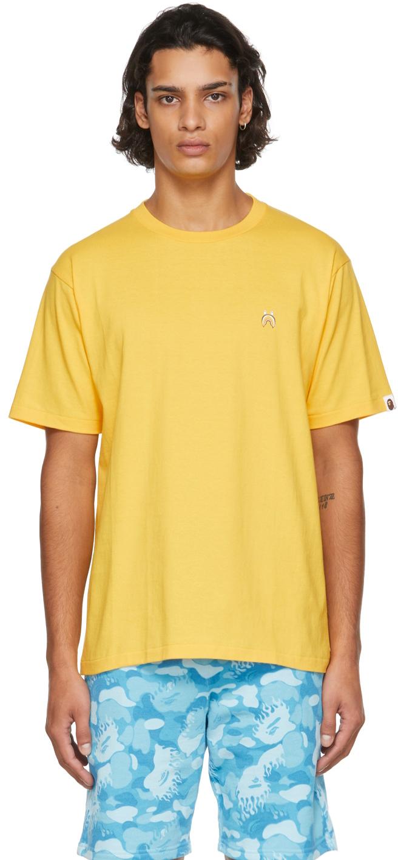 Yellow Shark One Point T-Shirt