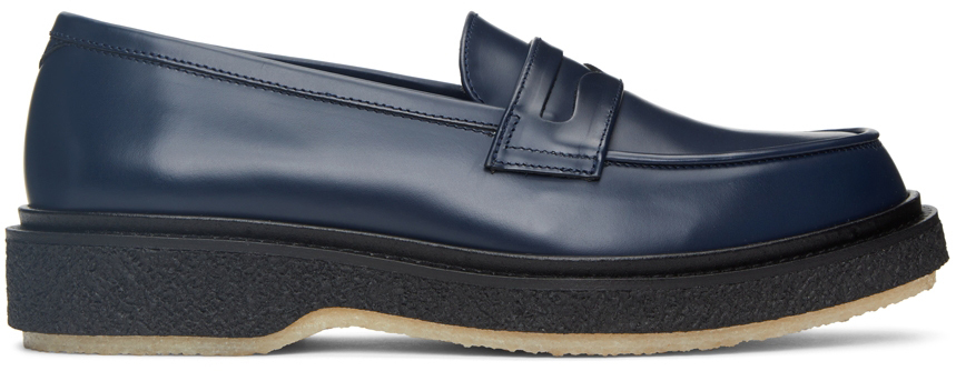 Navy Classic Type 5 Loafers