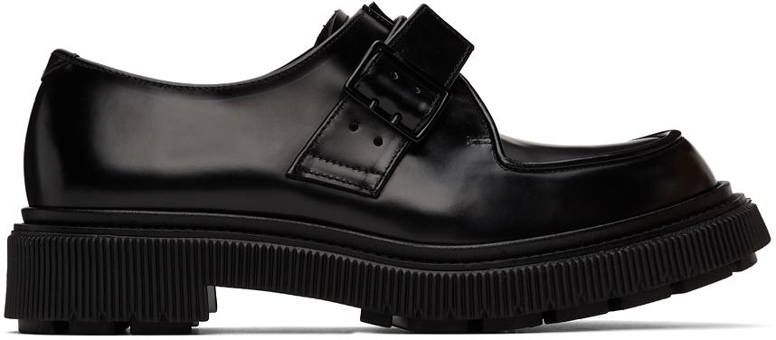 Black Type 136 Monkstraps