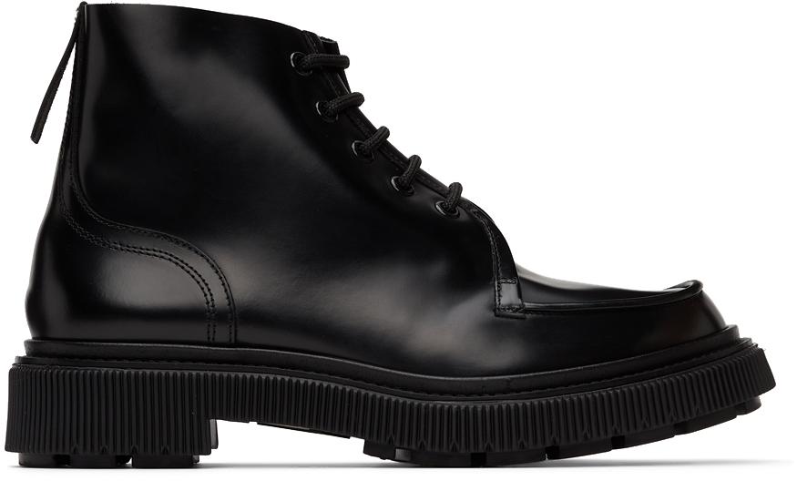Adieu Black Type 164 Boots