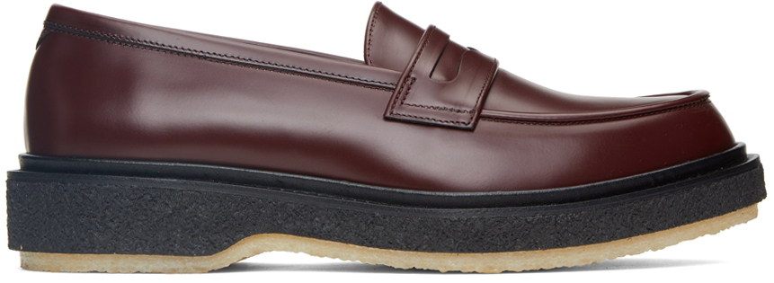 Burgundy Classic Type 5 Loafers
