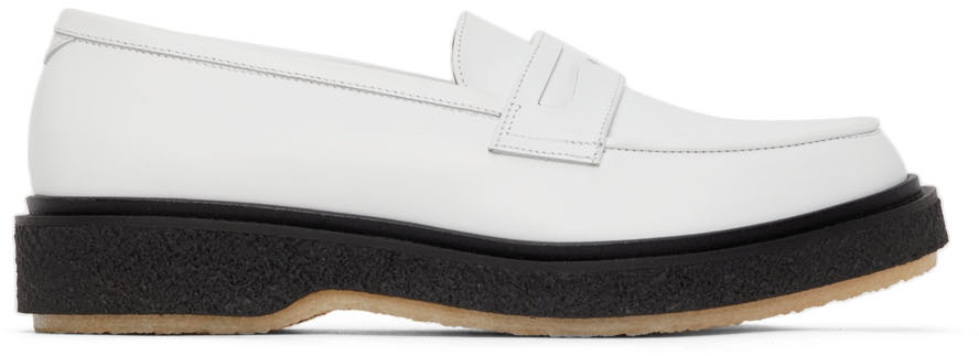 White Type 5 Loafers