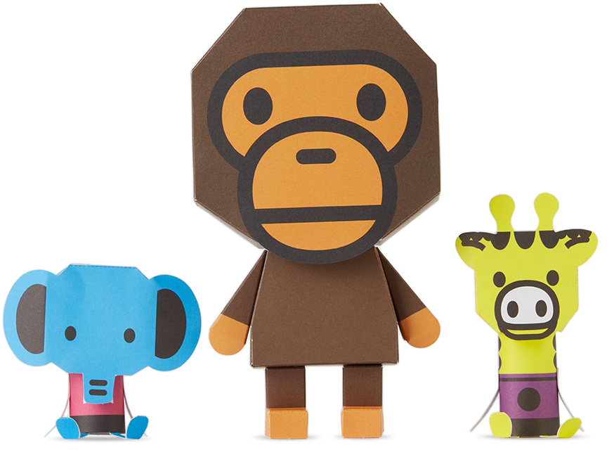 Three-Pack Paper Toys Craft Set