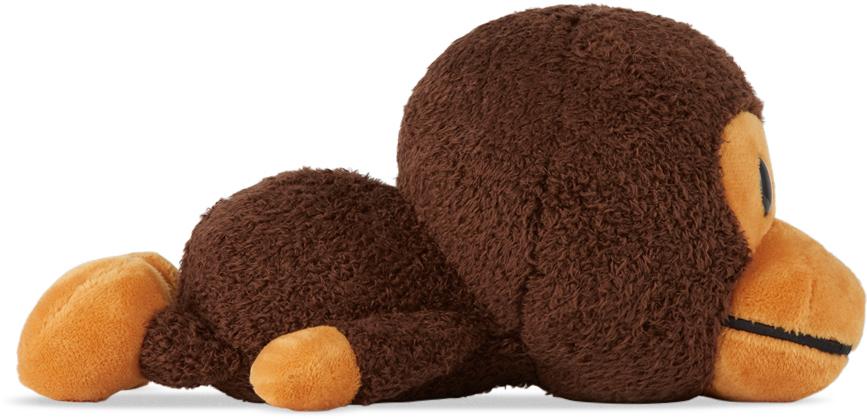 Brown Sleeping Baby Milo Doll