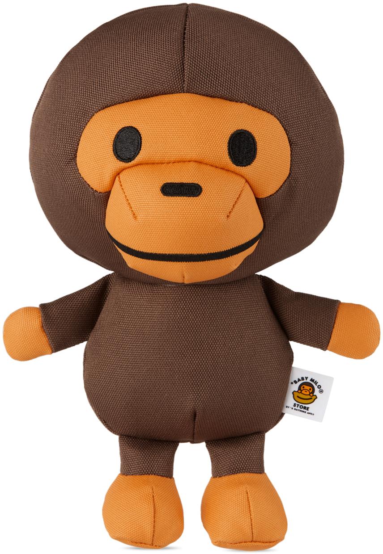 Brown & Orange Classic Baby Milo Dog Toy