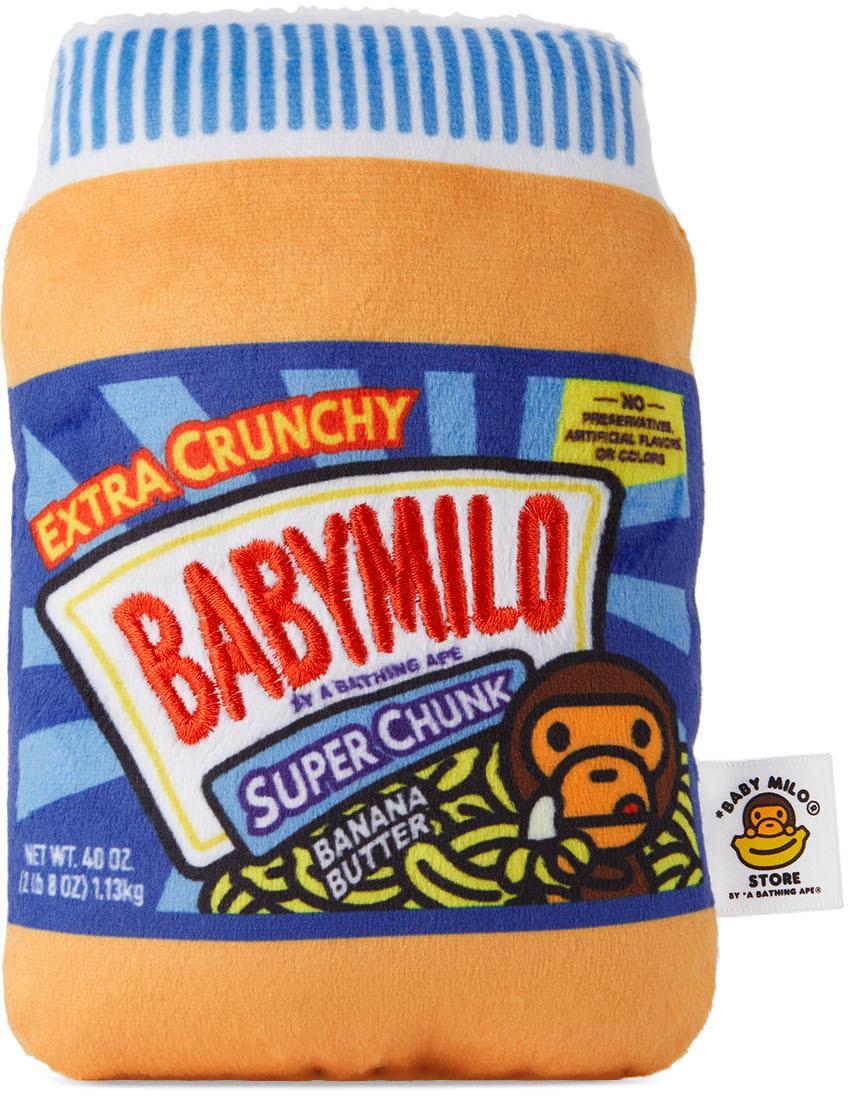 Orange Baby Milo Banana Butter Pet Toy