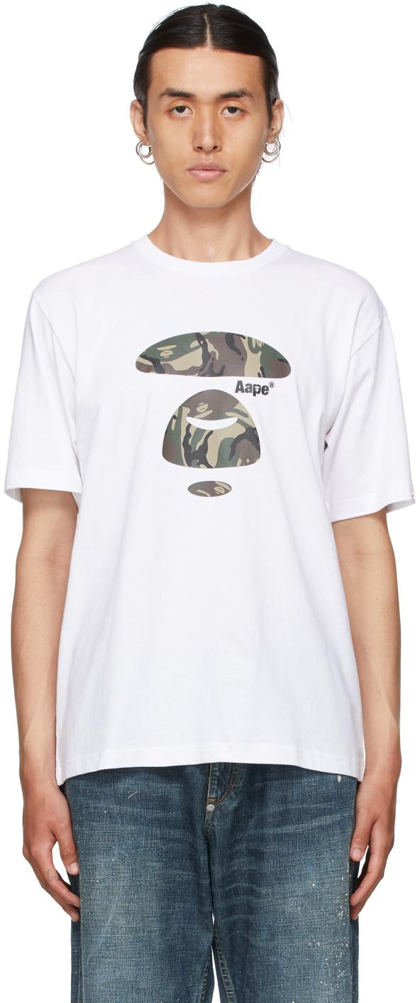 White Camouflage Logo T-Shirt