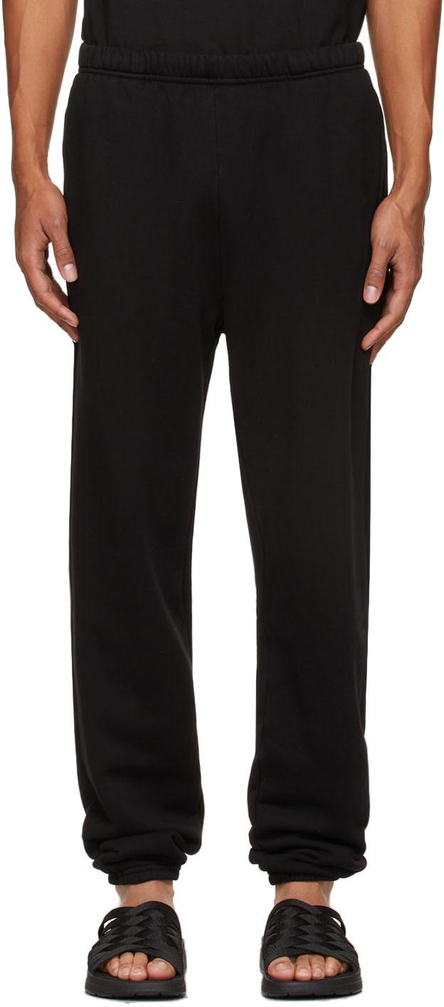 Black Heavyweight Classic Lounge Pants
