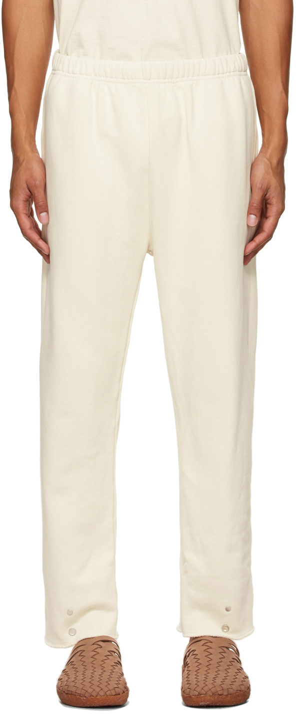 Off-White Heavyweight Snap Front Lounge Pants