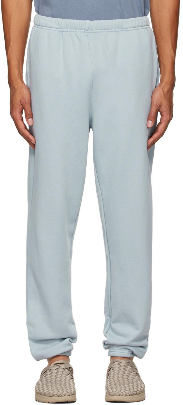Blue Heavyweight Classic Lounge Pants