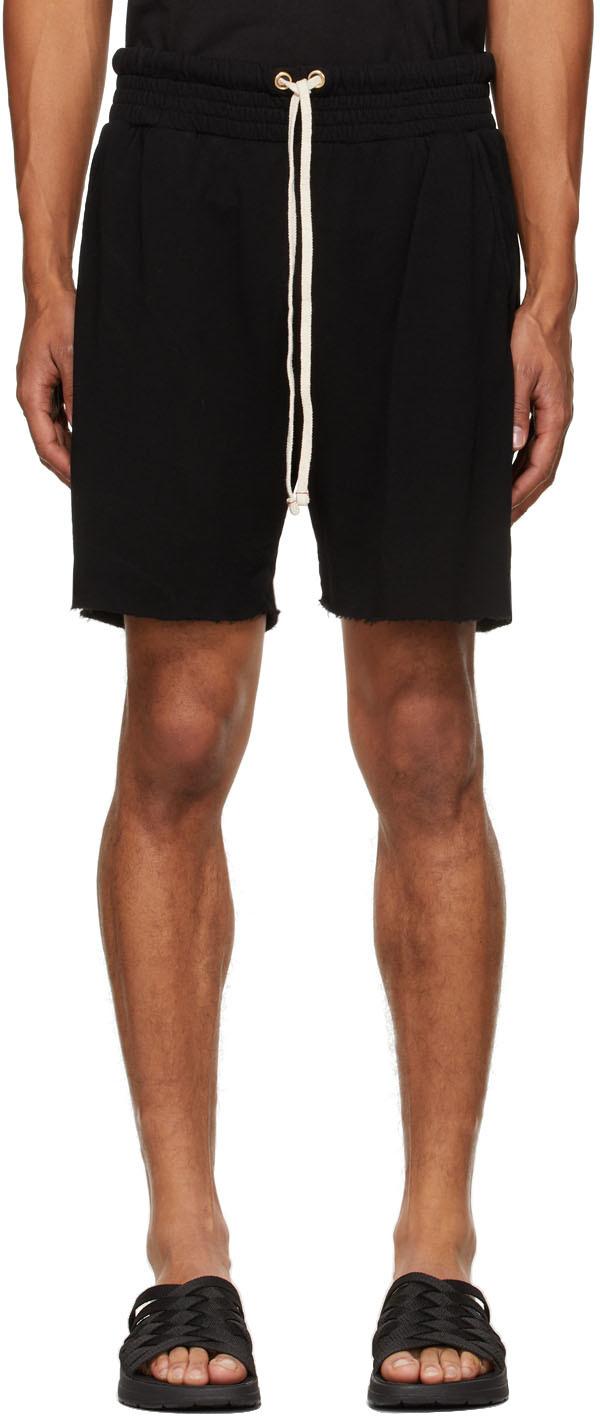 Black Lightweight Yacht Shorts