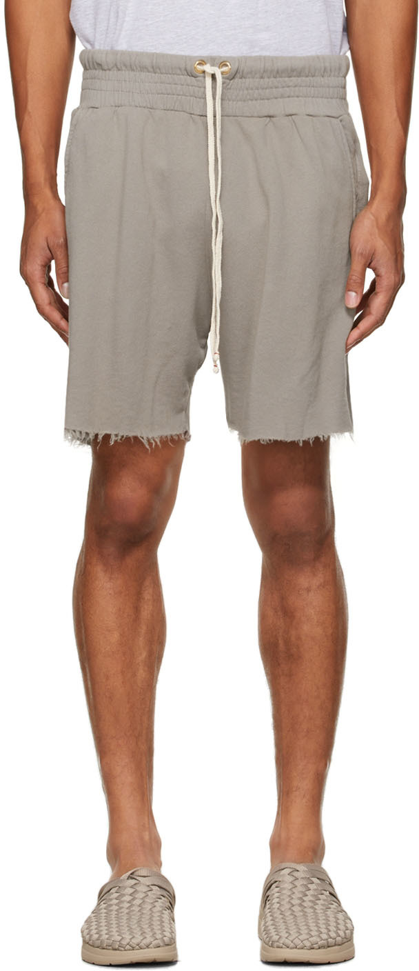 Taupe Lightweight Yacht Shorts