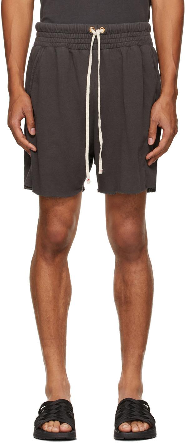 Grey Lightweight Yacht Shorts