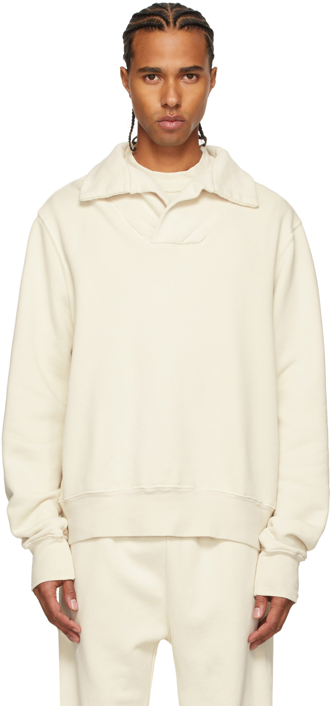 Off-White Heavyweight Yacht Pullover Sweatshirt