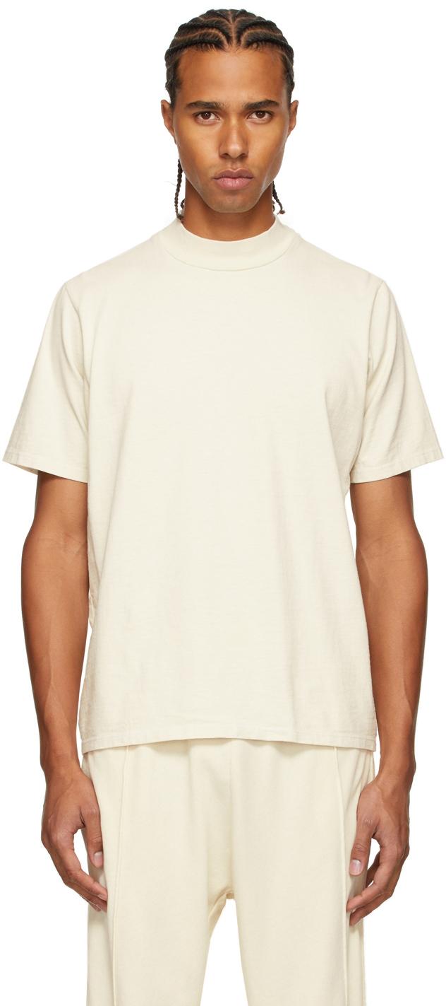 Off-White Heavyweight Mock Neck T-Shirt