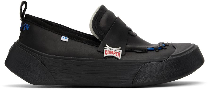 Black Camper Edition Cinder Penny Loafers