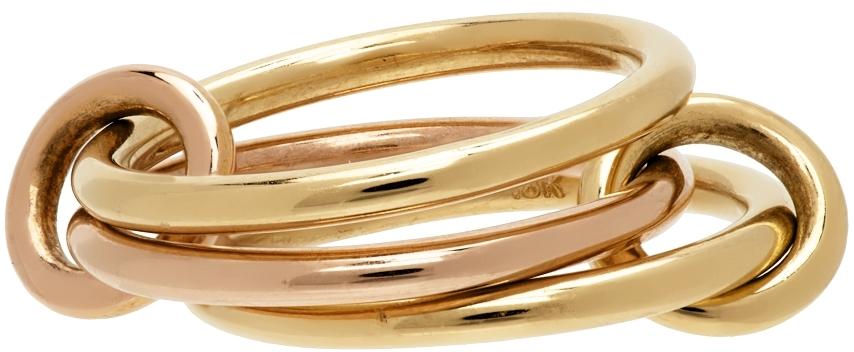 Gold & Rose Gold Solarium Ring