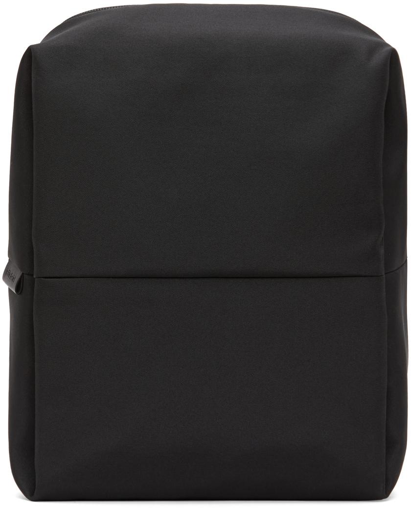 Côte&Ciel Black EcoYarn Rhine Backpack
