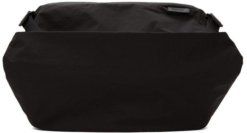 Côte&Ciel Black Memorytech Riss Messenger Bag