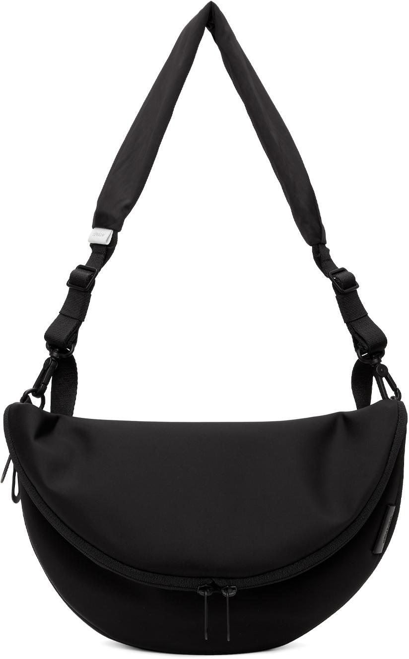 Côte&Ciel Black Hala Messenger Bag