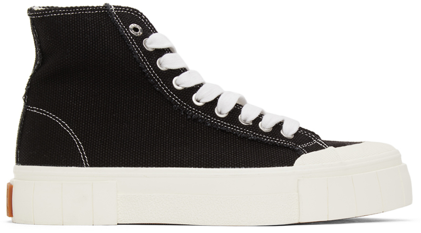 Black Palm High Sneakers