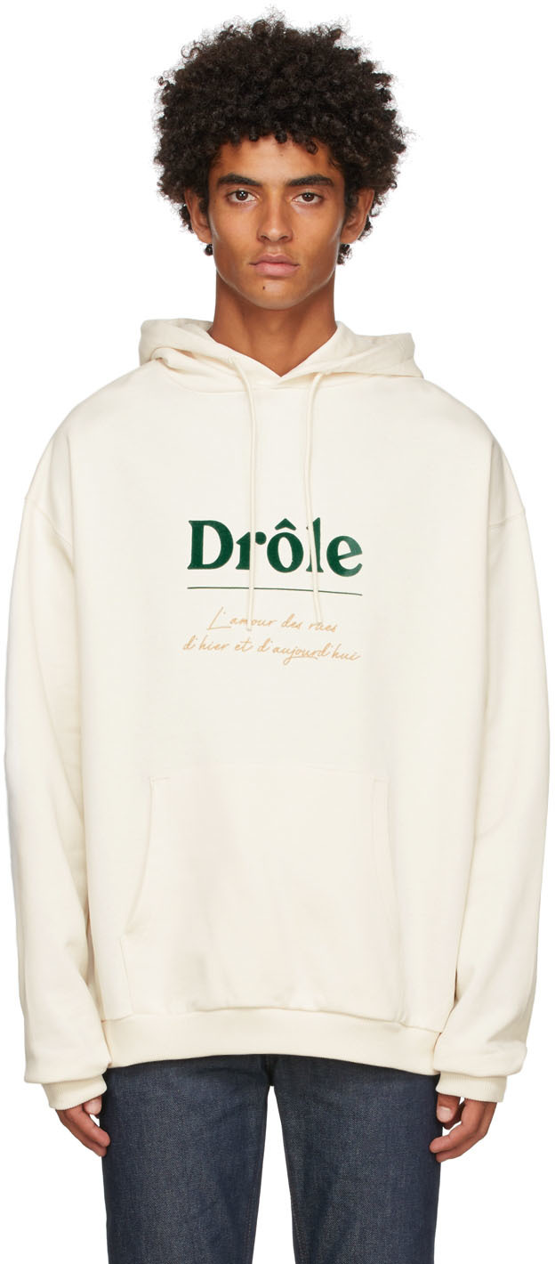 Drôle De Monsieur Off-White 'Le Hoodie L'amour Des Rues' Hoodie