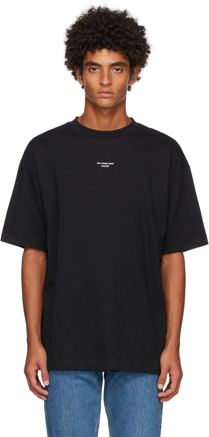 Drôle De Monsieur Black 'Le T-Shirt Classique NFPM' T-Shirt