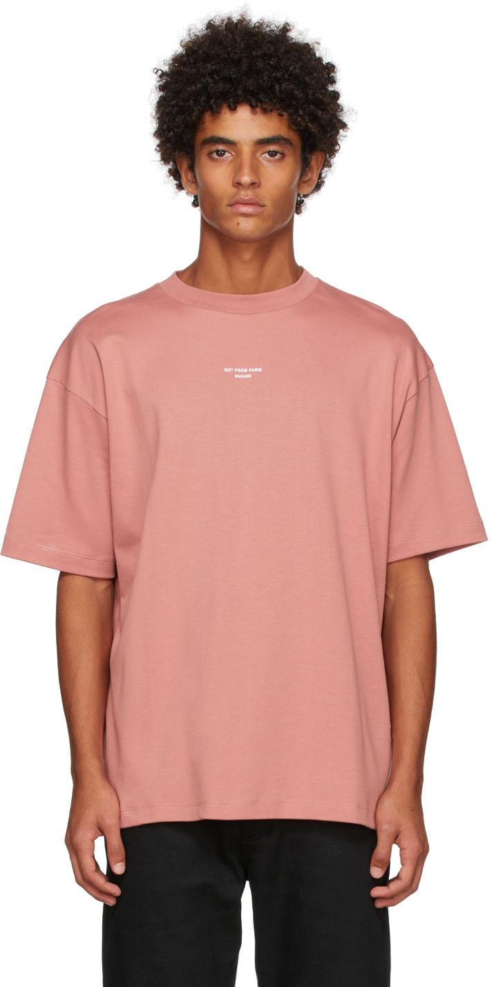 Drôle De Monsieur Red 'Le T-Shirt Classique NFPM' T-Shirt