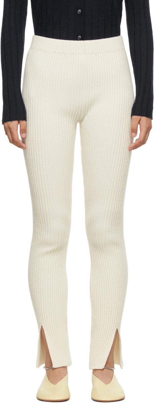 Off-White Cashmere 'The Sima' Leggings